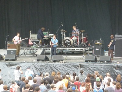 British Sea Power at Splendour in the Grass 2011