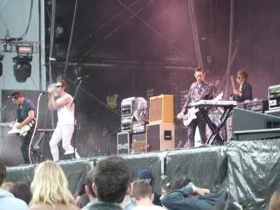 Glasvegas at Splendour in the Grass 2011