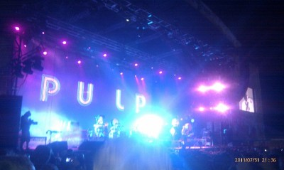 Pulp at Splendour in the Grass 2011