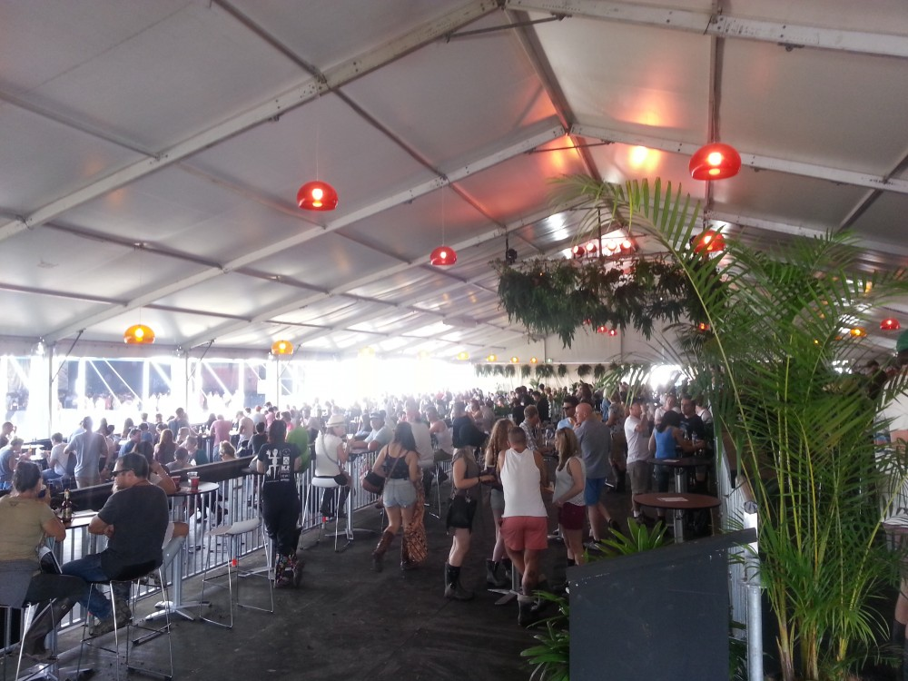 Splendour In The Grass country club bar