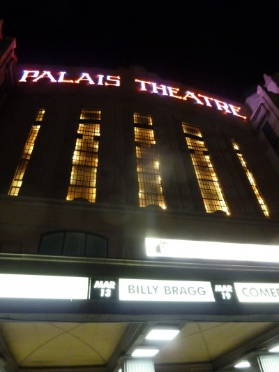 Billy Bragg, Palais Theatre Melbourne