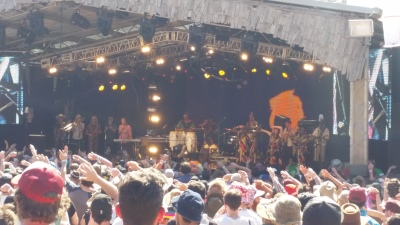 Public Opinion Afro Orchestra at Meredith Music Festival 2014