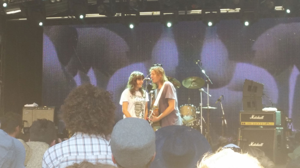 Evan Dando and Courtney Barnett