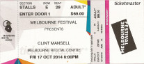 Clint Mansell in Melbourne