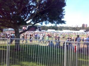 V Festival- people