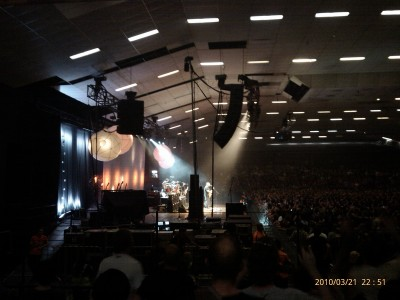 Pixes, Festival Hall, Melbourne. 21 March 2010