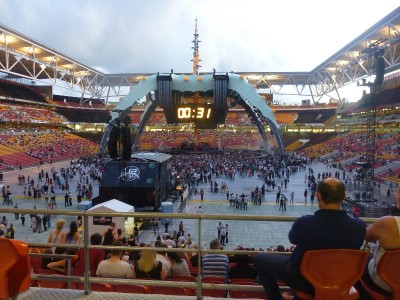 U2 Brisbane 9 Dec 2010