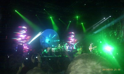 Coldplay at Splendour in the Grass 2011