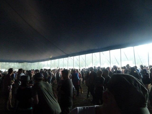 Youth Lagoon in a storm- Splendour in the Grass 2012