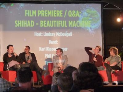 Shihad- Beautiful Machine Q & A- Splendour In The Grass 2012