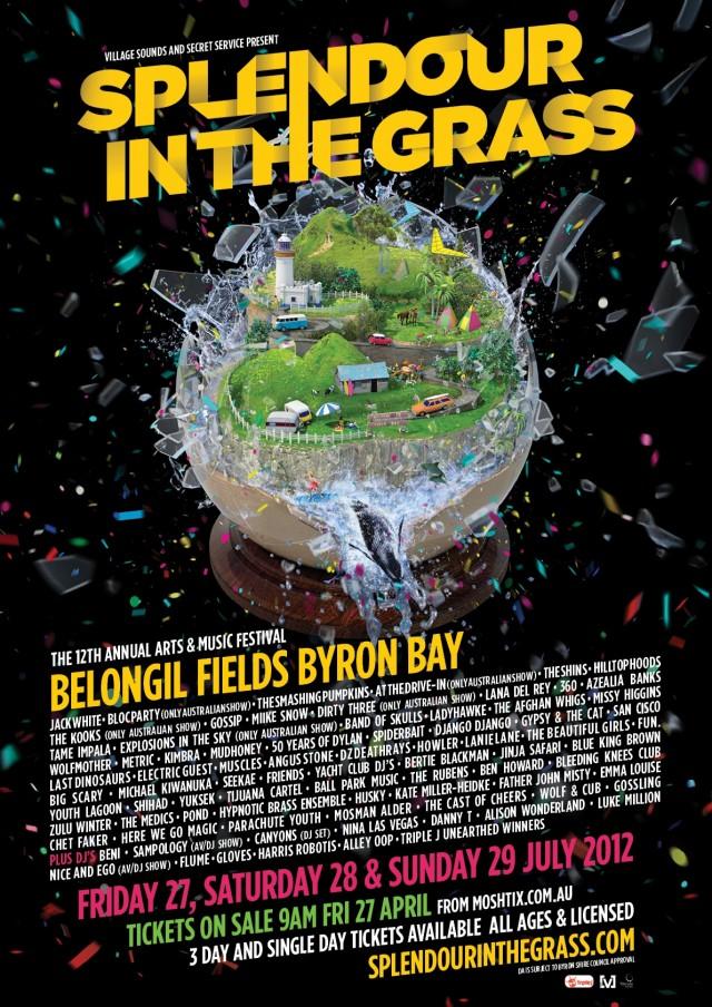 Splendour 2012 poster