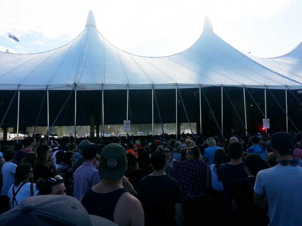 Crowd for Chet Faker