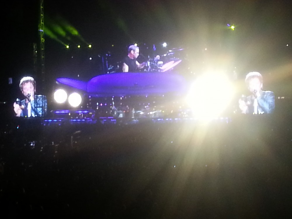 Bon Jovi @ Etihad Stadium, Melbourne (Sun 8 Dec 2013)