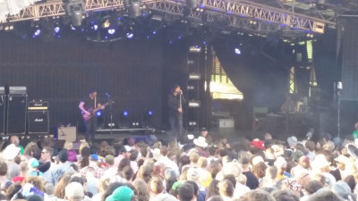 Mark Lanegan at Meredith Music Festival 2014